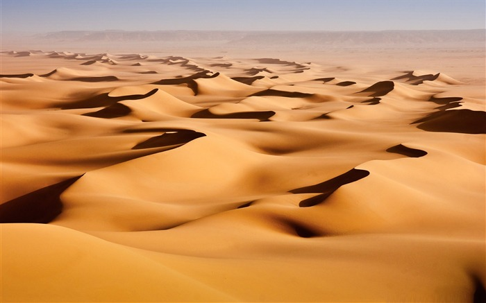 desert sand dunes-Amazing desert scenery Desktop Wallpapers Views:8967