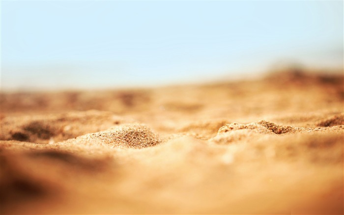 desert sand macro-Amazing desert scenery Desktop Wallpapers Views:8332