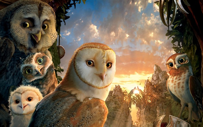 legend of the guardians the owls -Cartoon animation film Selected Wallpaper Views:8862 Date:12/29/2011 10:59:27 AM