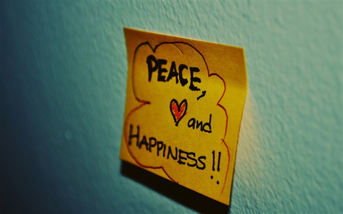 peace love and happiness-Love Series Desktop Picture Views:4883