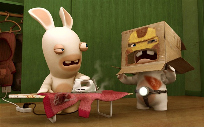 rayman raving rabbids-Cute funny design desktop picture Views:8529