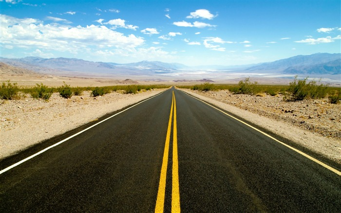 road to death valley-Amazing desert scenery Desktop Wallpapers Views:32024