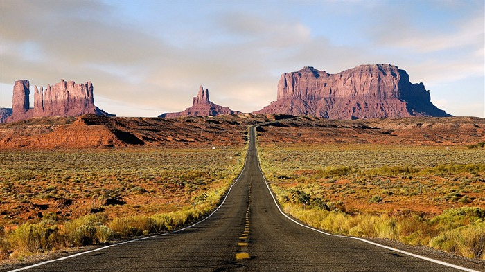 route desert-Amazing desert scenery Desktop Wallpapers Views:16230