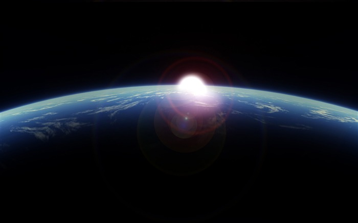 sunrise from space-Explore the mysteries of the universe Views:14543 Date:12/12/2011 11:56:45 PM