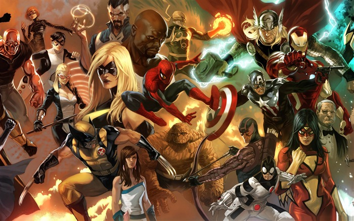the heroic age avengers-Cartoon animation film Selected Wallpaper Views:31654 Date:12/29/2011 12:29:39 PM