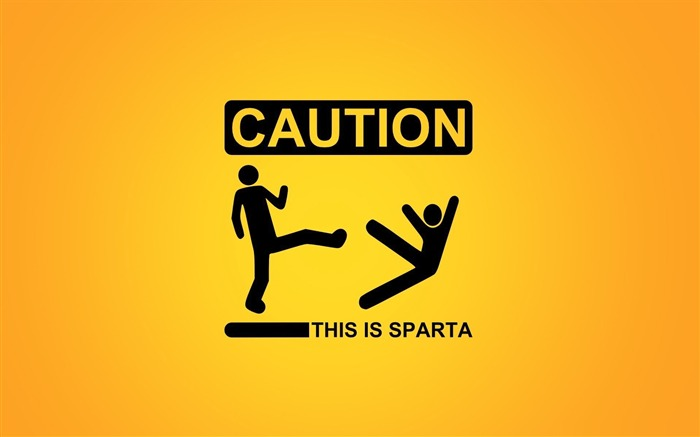 this is sparta-Cute funny design desktop picture Views:17978