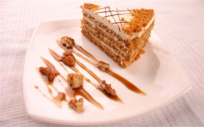 walnut cake-sweet foods Desktop Wallpaper Views:6732