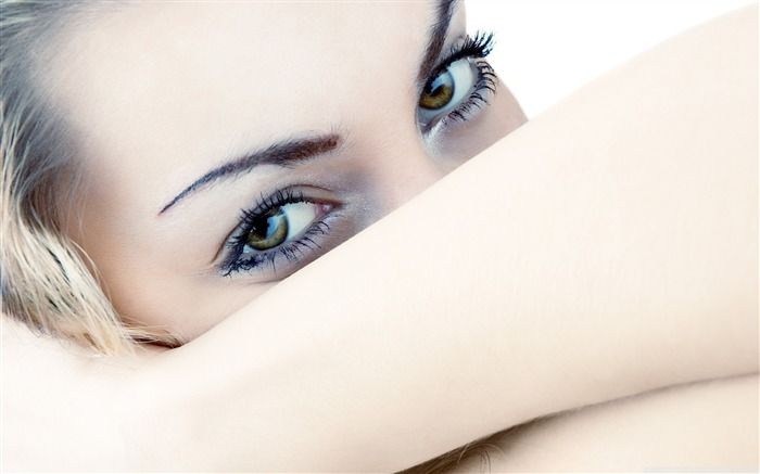 woman eyes-Beauty around the world Pictures Wallpaper Views:12689