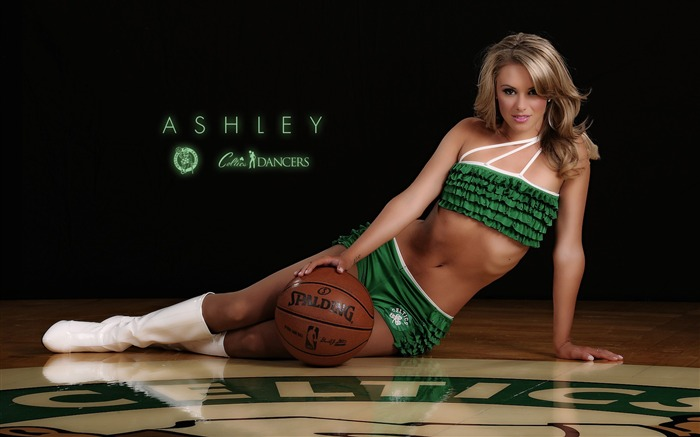 Ashley-Boston Celtics 2011-2012 season beautiful Dancers Wallpapers  Views:6480