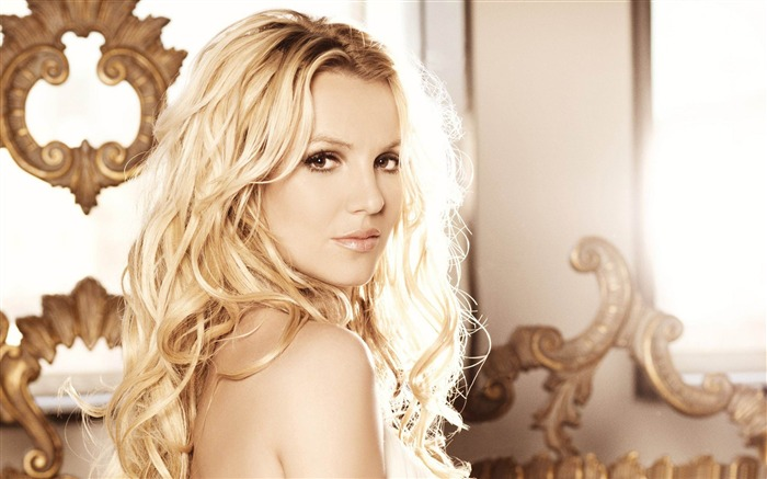Beauty Star pop music Singer-Britney Spears Photo Wallpaper Views:10249