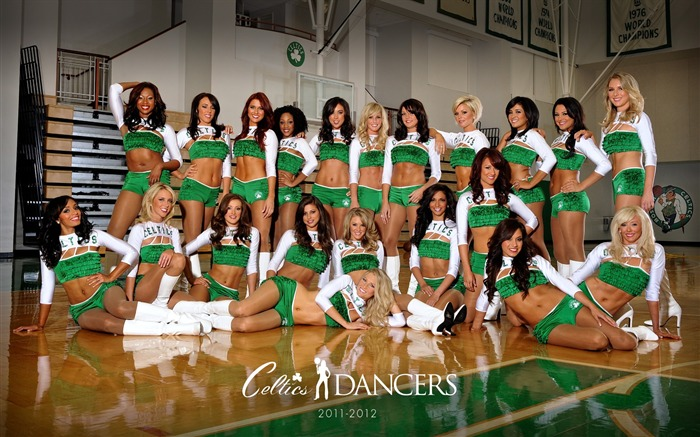 Boston Celtics 2011-2012 season beautiful Dancers Wallpapers Views:11259