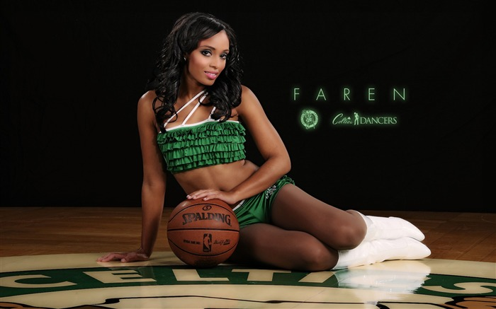 Faren-Boston Celtics 2011-2012 season beautiful Dancers Wallpapers  Views:5778