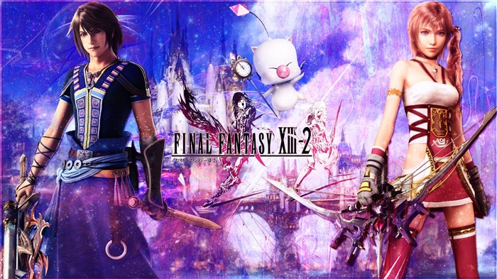 Final Fantasy XIII-2 Game HD Wallpaper 01 Views:5333