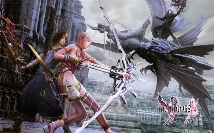Final Fantasy XIII-2 Game HD Wallpaper 02 Views:4969