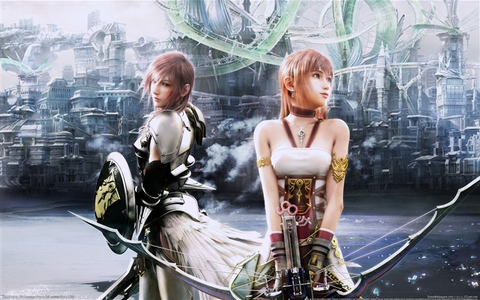 Final Fantasy XIII-2 Game HD Wallpaper Views:12835