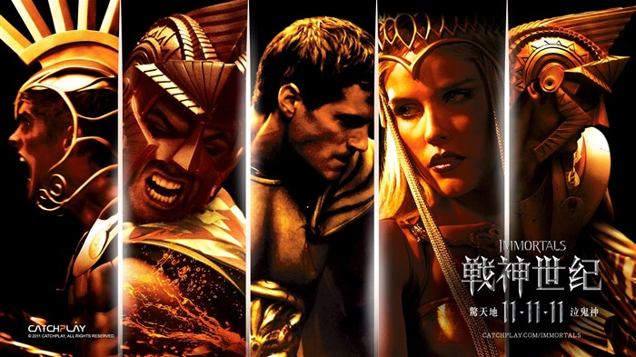 Immortals 3D movie desktop wallpaper 01 Views:10328 Date:1/27/2012 12:29:37 PM