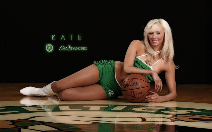 Kate-Boston Celtics 2011-2012 season beautiful Dancers Wallpapers  Views:6211