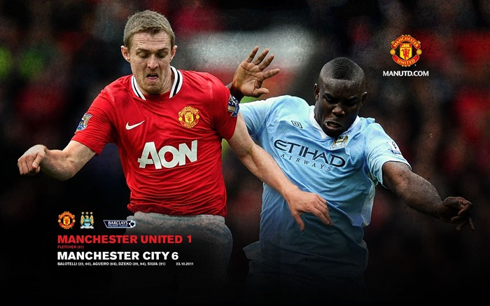 Manchester United 1 Manchester City 6 Views:7327