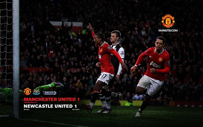 Manchester United 1 Newcastle 1 Views:5415