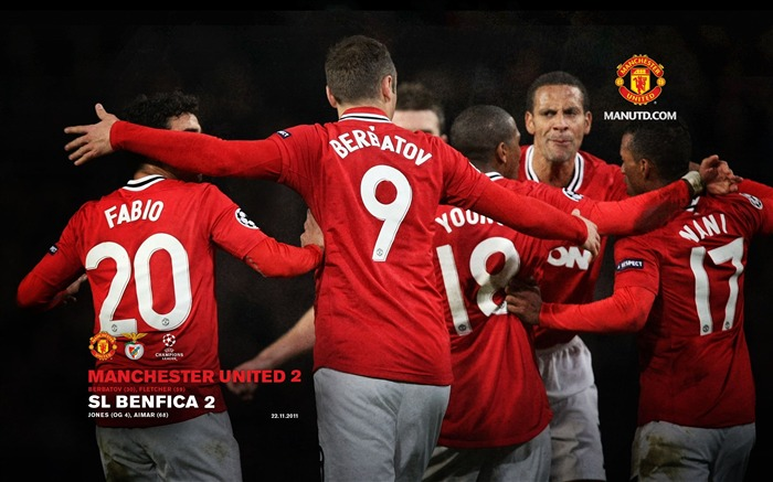 Manchester United 2 Benfica 2 Views:6543