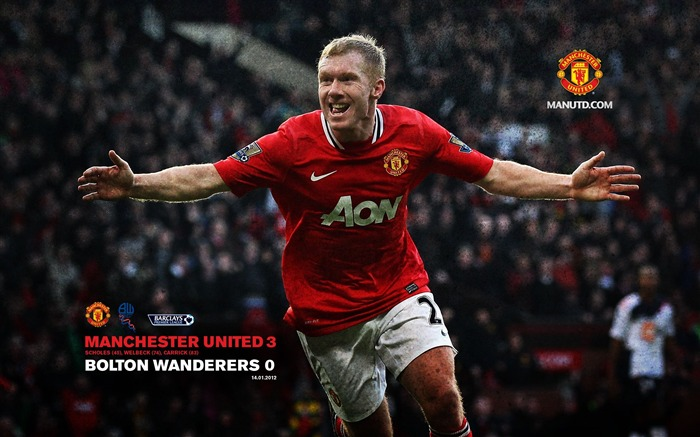 Premier League 2011-2012 season Manchester United wallpaper Views:15535