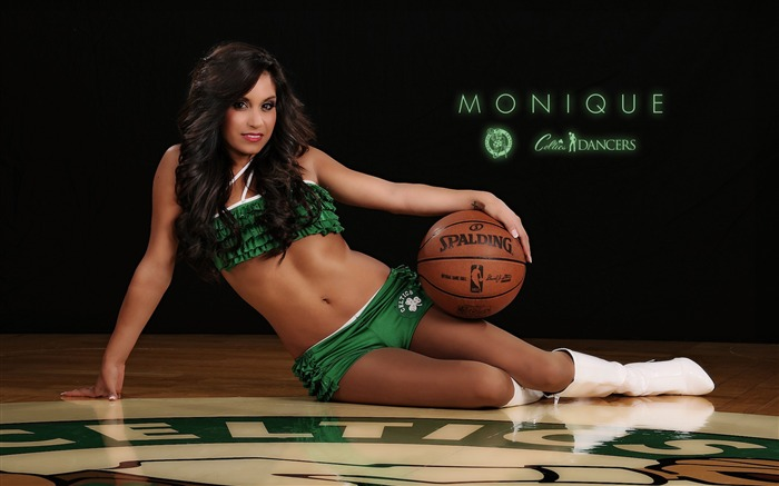 Monique-Boston Celtics 2011-2012 season beautiful Dancers Wallpapers  Views:4117