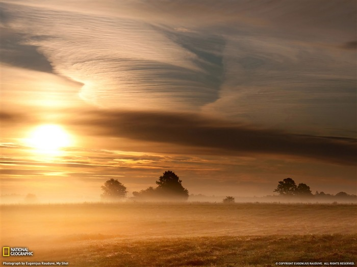 Morning Landscape Lithuania-Landscape photography theme wallpaper Views:6406 Date:1/23/2012 3:03:48 PM