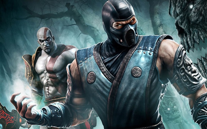Mortal Kombat game desktop wallpaper Views:13177