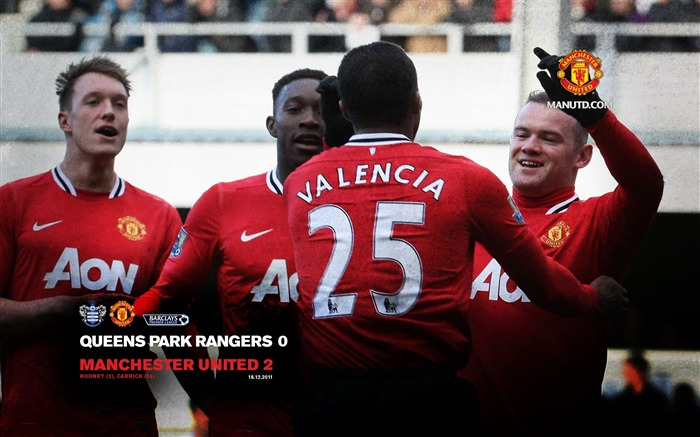 QPR 0 Manchester United 2 Views:6314