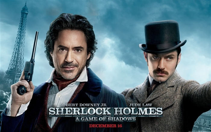 Sherlock Holmes A Game of Shadows Movie Wallpaper Views:11291