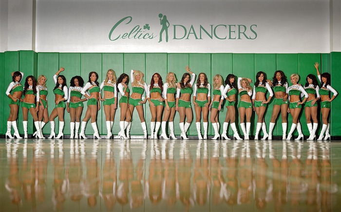 Team-Boston Celtics 2011-2012 season beautiful Dancers Wallpapers  Views:11518