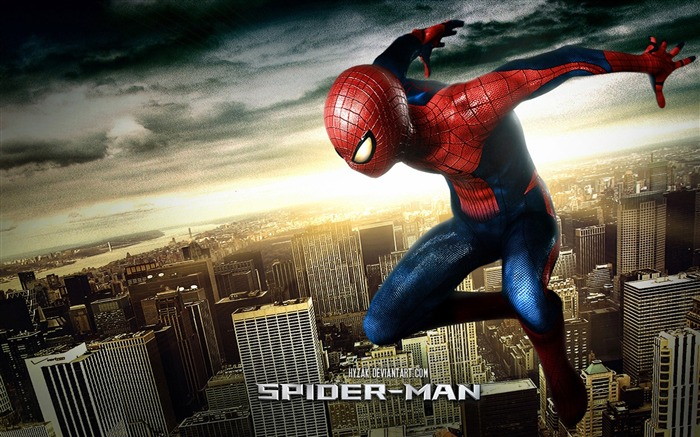 The Amazing Spider Man 2012 HD Movie Wallpaper 03 Views:12903