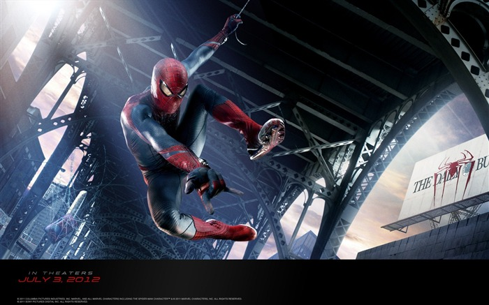 The Amazing Spider Man 2012 HD Movie Wallpaper 12 Views:3635