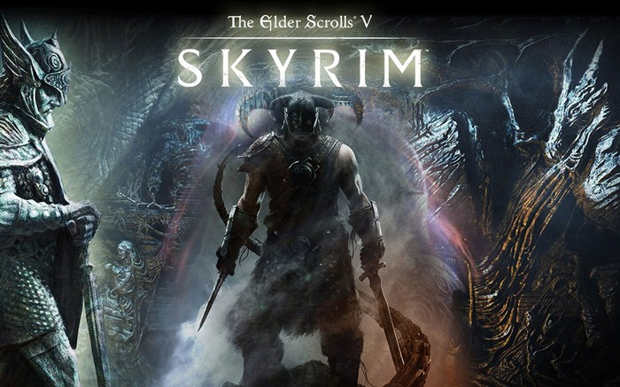The Elder Scrolls V-Skyrim Game HD Wallpaper Views:13596