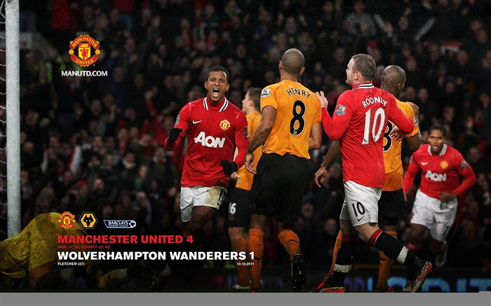 Wolves 1 Manchester United 4 Views:6264