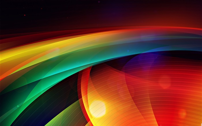colorful background-Dream glare colorful design theme wallpaper Views:7944