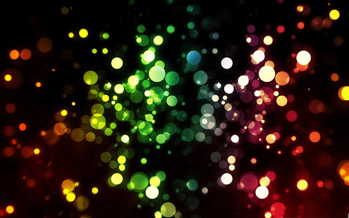 colorful lights-Dream glare colorful design theme wallpaper Views:12114
