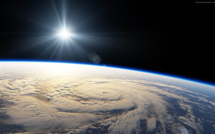 hurricane season-Space Photography Desktop Wallpaper Views:12577