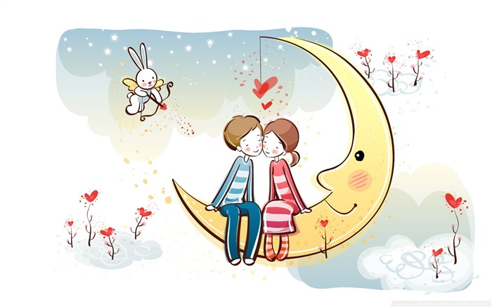 Romantique Valentine Day Wallpaper Vector Album Vues:15291