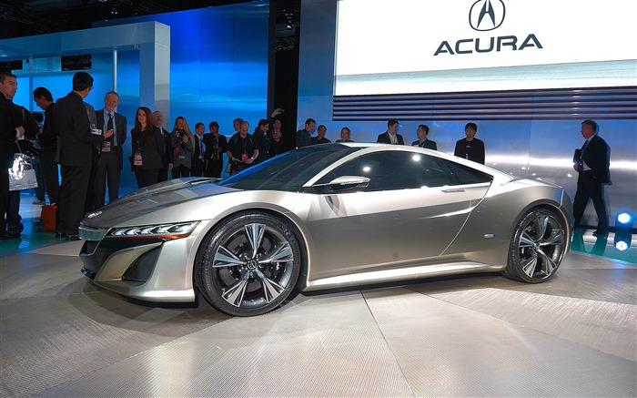 Acura NSX concept car HD Wallpaper 07 Views:6389 Date:2/19/2012 4:39:18 PM