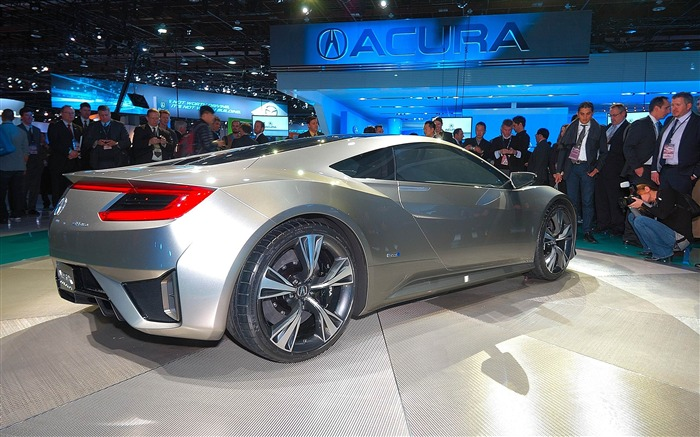 Acura NSX concept car HD Wallpaper 11 Views:5964 Date:2/19/2012 4:41:55 PM
