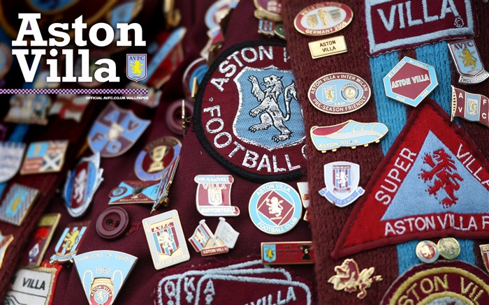 Badge brilliance-Aston Villa football club HD desktop wallpaper Views:5002