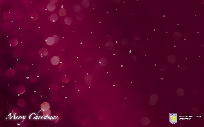 Classic Christmas-Aston Villa football club HD desktop wallpaper Views:7639