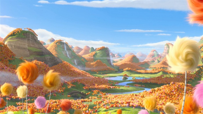 Dr Seuss The Lorax HD Movie Wallpaper 04 Views:3394