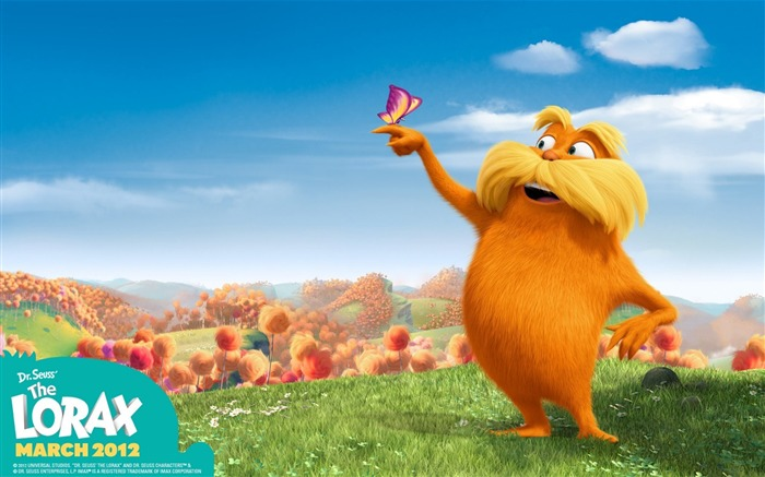 Dr Seuss The Lorax HD Movie Wallpaper 05 Views:3019