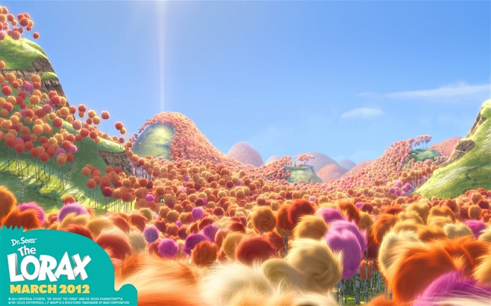 Dr Seuss The Lorax HD Movie Wallpaper 07 Views:3734