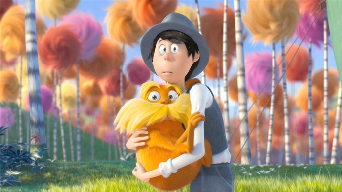 Dr Seuss The Lorax HD Movie Wallpaper 14 Views:4114