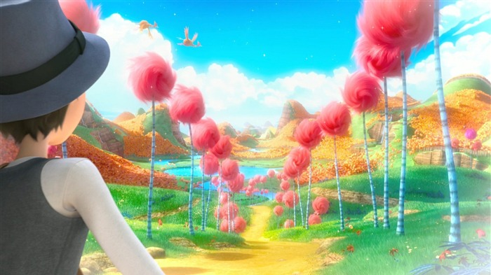 Dr Seuss The Lorax HD Movie Wallpaper 18 Views:3600