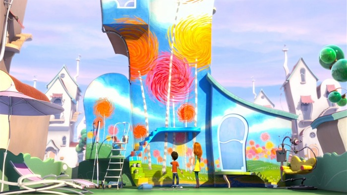 Dr Seuss The Lorax HD Movie Wallpaper 24 Views:2187