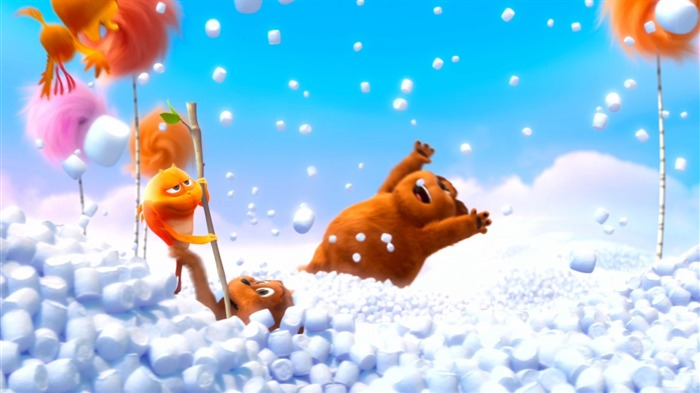 Dr Seuss The Lorax HD Movie Wallpaper 29 Views:3336